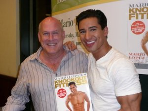 Rick & mario lopez at book signing 2008